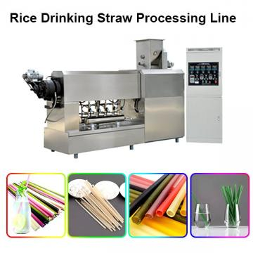 Natural Rice Eco-Friendly Drinking Straws Processing Line Machine