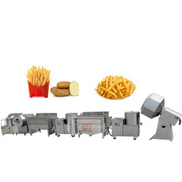 Industrial Continuous Automatic Potato Chip French Fry Frying Food Machine